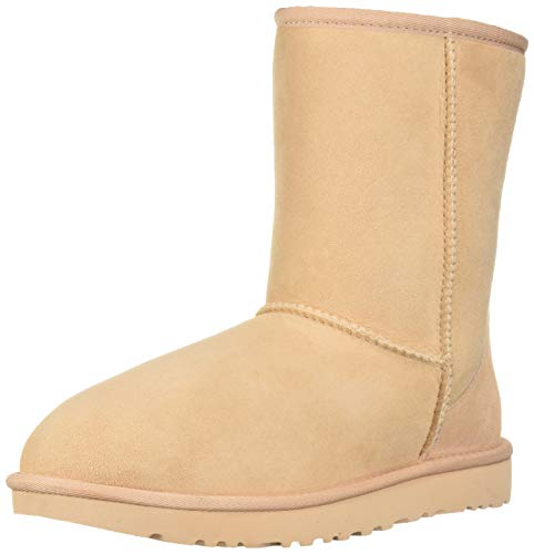 UGG Women's W Classic Short II Fashion Boot, Amber Light, 6 M US