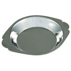 Royal Industries Round Au Gratin, Stainless Steel, 6 oz, Silver