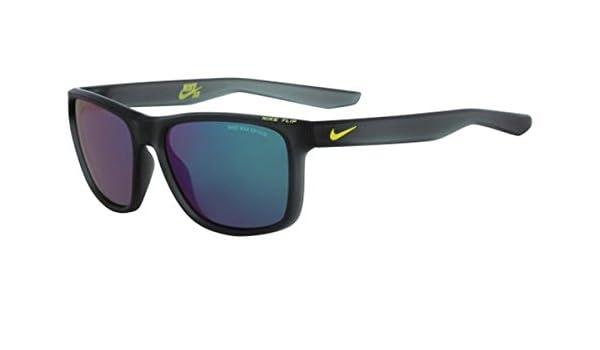 Nike ev0989 - 063 Funda R Gafas De Sol (Marco Gris con Verde Flash Lente), Mate Antracita/Cyber: Amazon.es: Deportes y aire libre