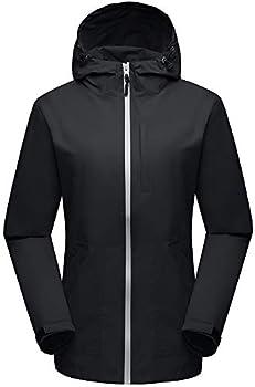 Wantdo Women's Lightweight Windbreaker Quick Dry Jacket
