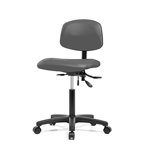 Dr 19 Gunmetal Wheel (Top Medical Office Chair with Seat Tilt 19