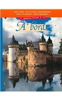 (A Bord: Glencoe French 2 : Writing Activities Workbook and Student Tape Manual)