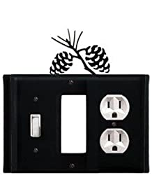 Egso-89 Pinecone Gfi Switch Outlet Electric Cover