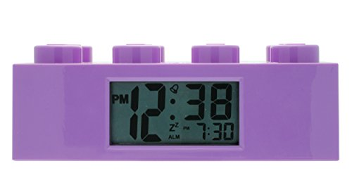 cks ' Friends Purple' Plastic Childrens Clock, Color:Purple (Model: 9009853) ()