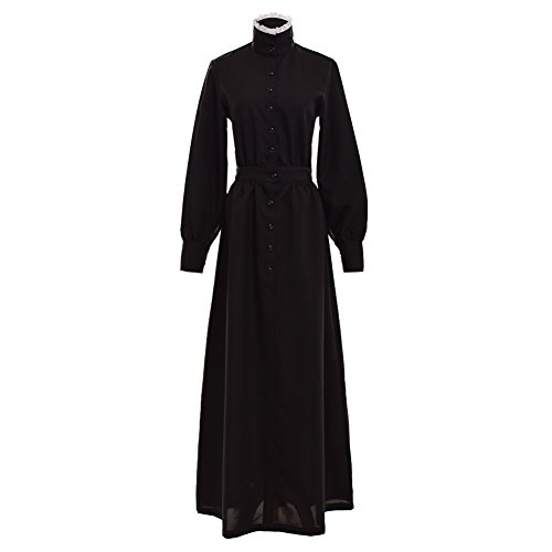 [GRACEART Pioneer Woman Costume Prairie Dress] (Victorian Era Dress)