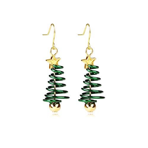 AMAZYJ Christmas Tree Earrings Tree Dangle Hook Christmas
