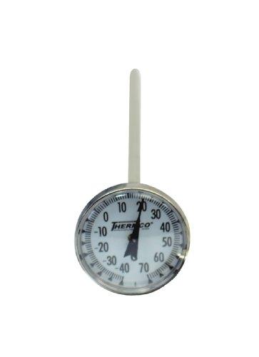 (Thermco ACCG100CX Bi-Metal Dial Laboratory Thermometer, 1-3/4