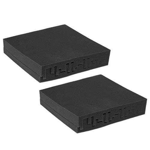 [해외]Homyl KTV 스튜디오 녹음 실을 위한 4pcsPack 청각 거품 위원회 음향 소음 열 절연 제-50x50x5cm / 4pcs  Pack Acoustic Foam Panel Sound Noise Thermal Insulation for Homyl KTV Studio Recording Room - 50x50x5cm