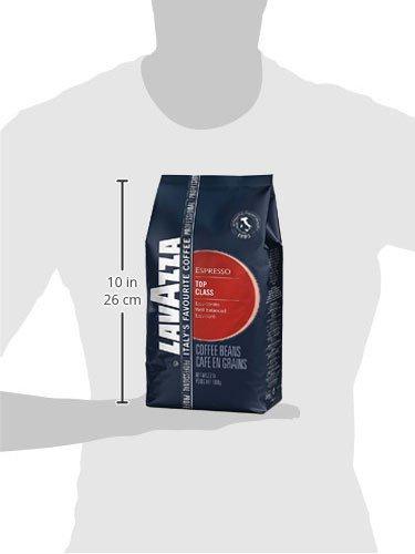 Lavazza Top Class Whole Bean Coffee Blend, Medium Espresso Roast, 2.2 Pound, 6 Count by Lavazza (Image #8)