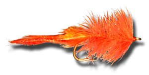 Sea Ducer - Orange Fly Fishing Fly - Size 3/0 - 3 Pack