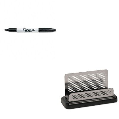 (KITROLE23578SAN30001 - Value Kit - Rolodex Distinctions Business Card Holder (ROLE23578) and Sharpie Permanent Marker (SAN30001))