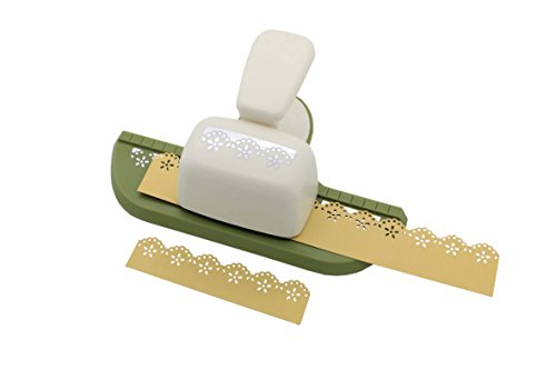 - Bira Continuous Border Paper Craft Punch for Scrapbooking Cards Arts (Flower)
