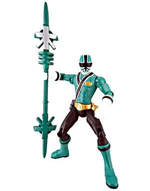 Power Ranger Samurai Samurai Ranger Forest Action Figure