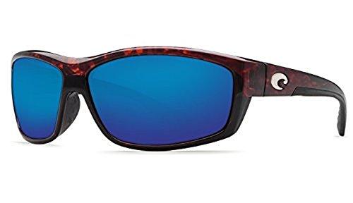 (Costa Saltbreak Sunglasses Tortoise/Blue Mirror Glass 580G & Neoprene Classic Bundle)
