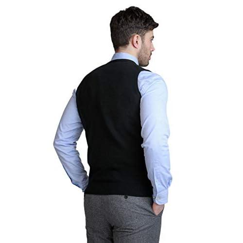 31wzpOMv5OL. SS500  - BASE 41 Men's Sleeveless Reversible Sweater