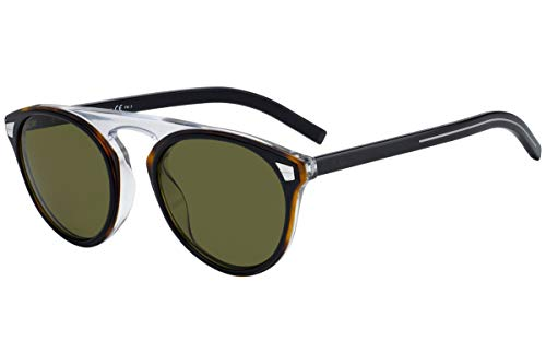 Christian Dior Homme DiorTailoring2 Sunglasses Black Havana w/Green Lens 52mm WR7QT Dior Tailoring2 Dior Tailoring 2 Dior Tailoring2/S DiorTailoring2/S