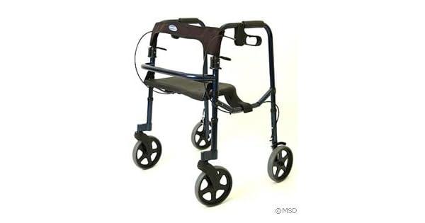 Amazon.com: Invacare Rollite Andador con ruedas 8 inch ...