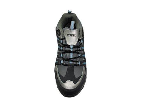 Hytest Women's Internal Metguard Electrical Hazard,Non-Slip Steel-Toe Athletic Safety Shoe (5W US, Blue) by Wolverine (Image #3)