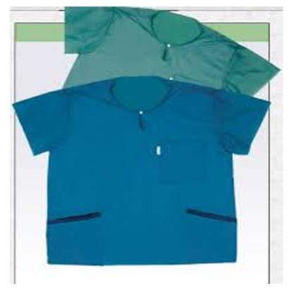 Molnlycke Barrier Wearing Apparel - Scrub Shirt, Medium, Blue 21620