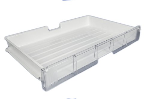 LG Electronics AJP36700901 Refrigerator Drawer, White with Clear Trim