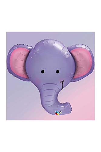 Qualatex Ellie The Elephant Microfoil Balloon, 39-Inches (1-Unit)]()