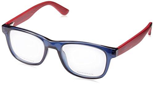 New Tommy Hilfiger Eyeglasses THF TH 1314 X3W 5019 Blue Rectangle 50 MM - Hilfiger Glasses
