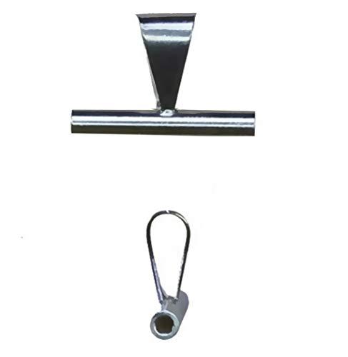 uGems Broach/Pendant Converter Bail Enhancer (Improved) Sterling Silver 15mm (Qty=1)