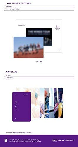 BigHit BTS MEMORIES OF 2017 DVD 5DVD+Photobook+Paper Frame+Postcard+Photocard+Free Gift by BigHit (Image #4)