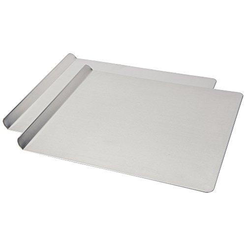 AirBake Natural 2 Pack Cookie Sheet Set, 16 x 14 in (Cookie Stick Non Aluminum Sheet)
