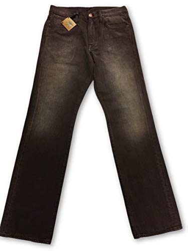 Agave Gringo Reverse Weave Brown Sand Jeans Size W32 Cotton