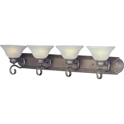Maxim Lighting Pacific Pewter 4-Light Vanity Light 8024MRPE