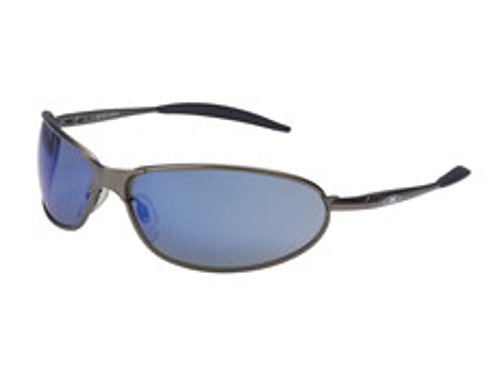 3M Metaliks 11556-00000-20 Blue Mirror Bronze Polycarbonate Standard Safety Glasses - 99.9 % UV Protection - Full Frame - 70071543840 [PRICE is per EACH]