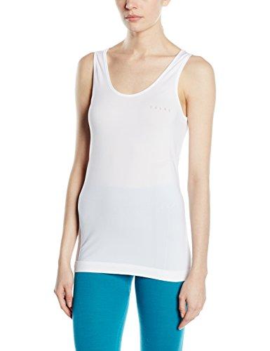 FALKE mujer ropa interior RU Comfort camiseta sin mangas para mujer Blanco - blanco