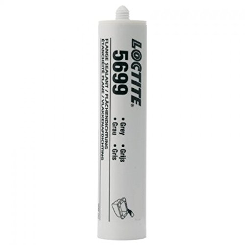 Loctite 18581 5699 Grey High Performance RTV Silicone Gasket Maker, -75 to 625 Degree F Temperature Range, 10.1 fl. oz. Cartridge HL135270