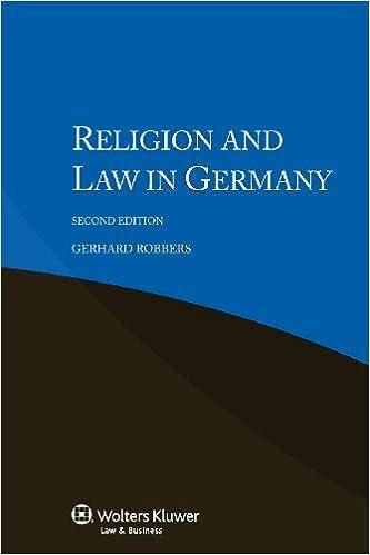 Descargar Libros Gratis En Religion And Law In Germany Ebooks Epub
