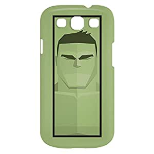Loud Universe Samsung Galaxy S3 Hulk Print 3D Wrap Around Case - Green/Black
