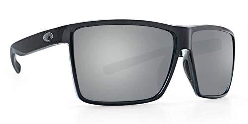 ea317e89cb Costa Del Mar Costa Del Mar RIN11OSGP Rincon Gray Silver Mirror 580P Shiny  Black Frame Rincon