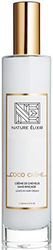 - Nature Elixir COCO CRÈME - Leave-in Conditioner that Plumps and Hydrates Hair - Hair Milk I 3.4oz 100ml