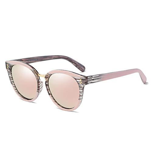 de Polarisées TLMY Lunettes Soleil Frame De Lunettes La Pink Lens Mode Pink À Femmes Soleil HqwqCztxg