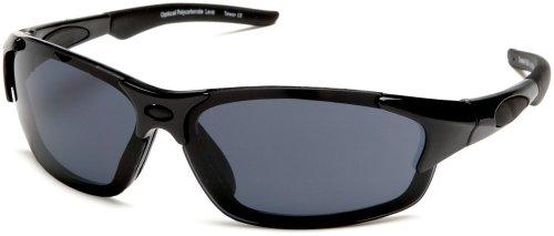 Sunbelt Men's Tread 310 Resin Sunglasses,Black Frame/Black Lens,one - Frame Size Sunglasses