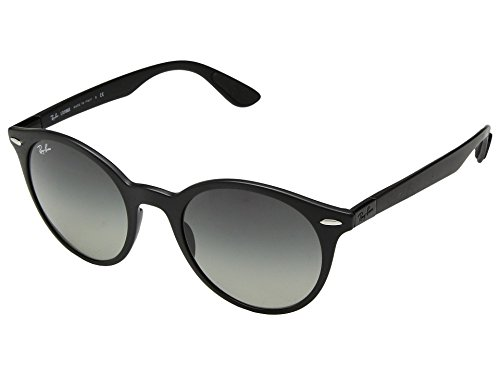Ray-Ban Plastic Unisex Round Sunglasses, Matte Black, 51 - Ray Sunglasses For Ban Parts