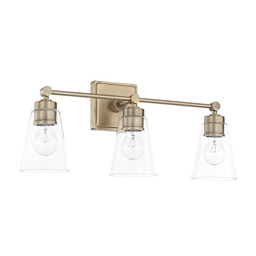 Capital Lighting 121831AD-432 Three Light Vanity from Capital Lighting