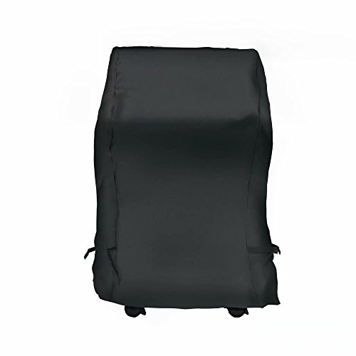 NEXTCOVER Universal Gas Grill Cover-30 inch 600D Canvas Heavy Duty Waterproof Fade Resistant Small Space BBQ Grill Cover for Char Broil, Holland, Jenn Air, Brinkmann.– Black N21G801