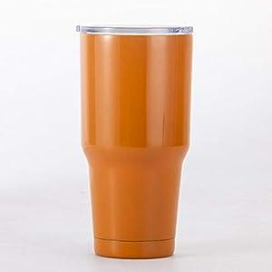 GFHTH Tazza Thermos Bicchiere da Acqua Tumbler Tazza da caffè in Acciaio Inossidabile Isolata Thermos Tazza Boccette per…