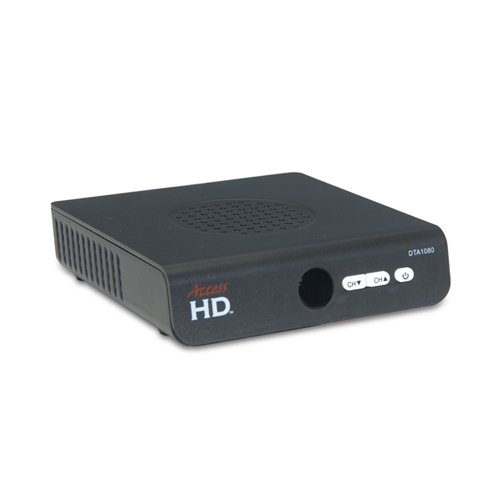Access HD 1080D NTIA-Approved Digital to Analog TV Converter Box by Access HD