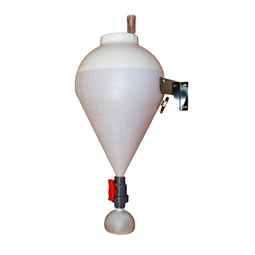 FastFerment Plastic Conical Fermenter - Wine Fermentation Kit Primary Carboy Fermenter - Everything You Need to Begin Your Wine Brewing kit - Save Approx. 20% on This Bundle