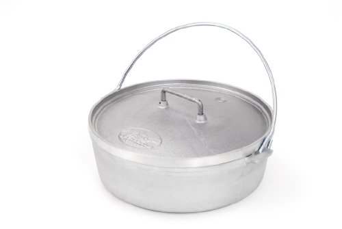 GSI Outdoors 10-Inch Aluminum Dutch Oven (Small, 2-Quart) (Small Camp Dutch Oven compare prices)
