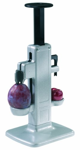 Westmark Germany 2 In 1 Cherry and Plum Stoner Pitter for Making Fruit Jam
