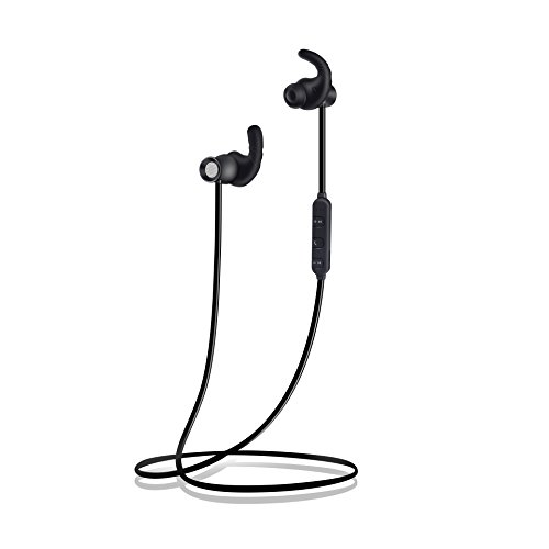 Remall bluetooth earphone mini with metal Magnetic Design,stereo Earphone , Sweatproof design Headset, sport running with neckband earbuds,excellent high bass sound quality hands free with microp