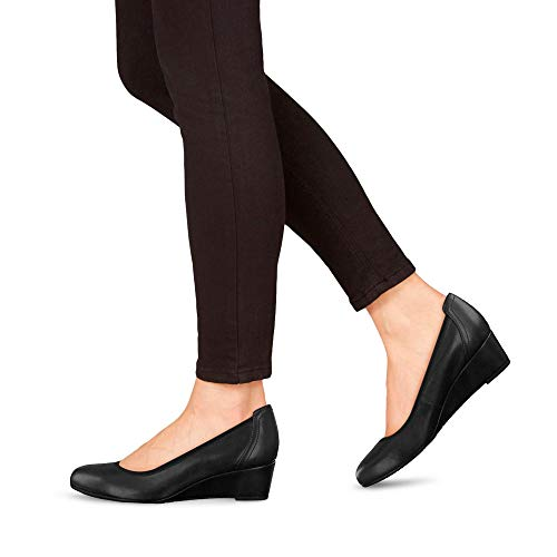 Tamaris Wedge 22320 Women's Shoes Black qzqBCw